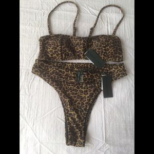 Swimming suit, two parts bikini